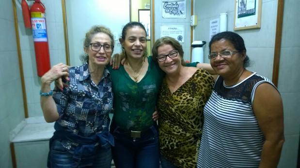 Os ouvintes conheceram os profissionais da emissora, entre eles a apresentadora Mônicka Christi