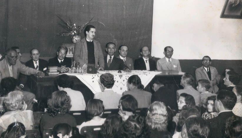 Geraldo de Aquino (ao centro) e conselheiros da FUNTARSO.