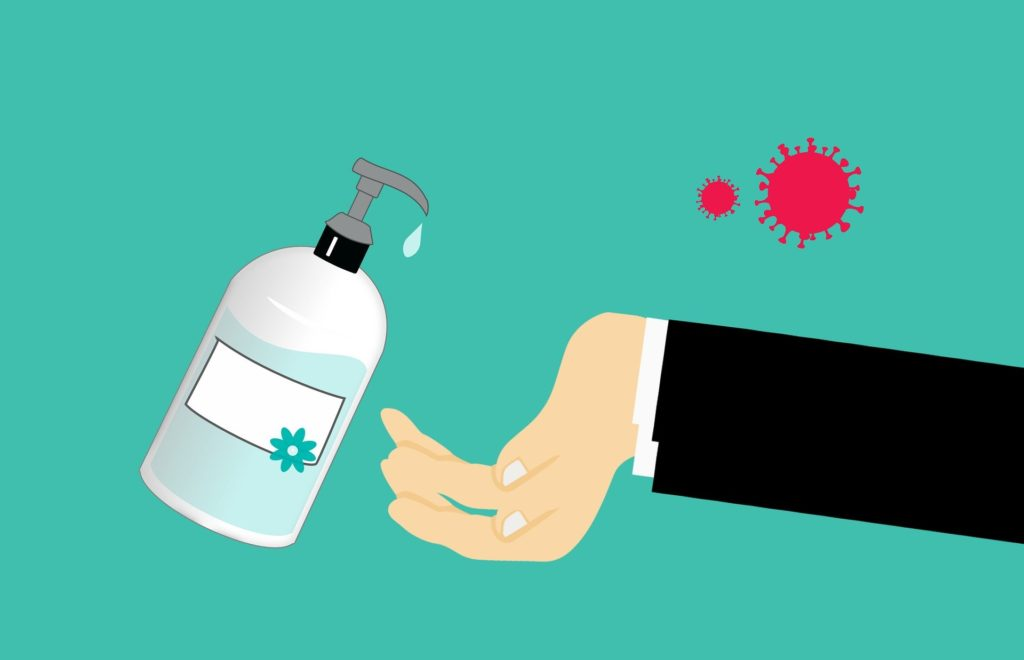Utilizar álcool em gel é uma das recomendações para combater a COVID-19
