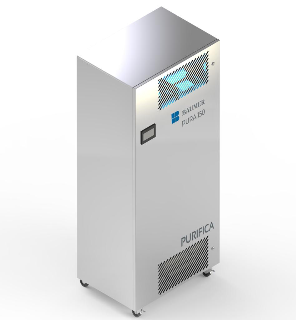O sistema conta com uma série de sensores para identificação da qualidade do ar